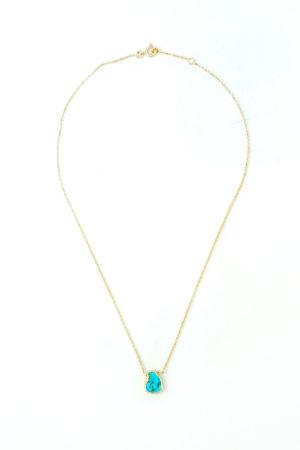 Wichita Collier Bijoux Montfort l'Amaury Turquoise