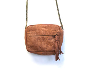 SAC marron Julie Meuriss, Cuir de vachette, doublure 100% CO Designed in France, Made in Europe