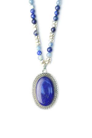 Wichita sautoir collier bijoux boutique Lapis Lazuli