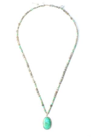 sautoir chrysoprase labradorite wichita bijoux